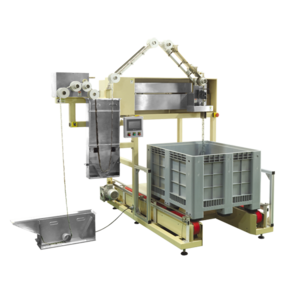 Automatic Pouch Loader/Layer Machine by zigzag with high speed and huge capacity DDG500